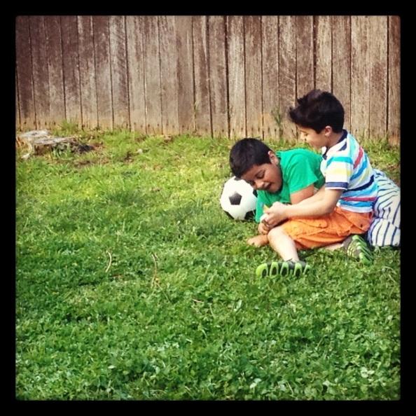 raising two boys